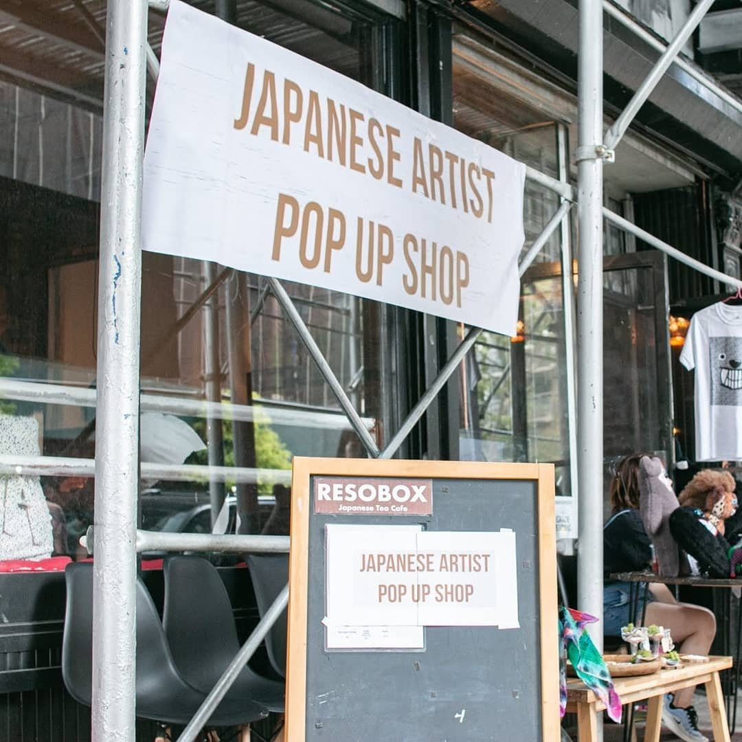 Japanese Artsist Pop Up Shop